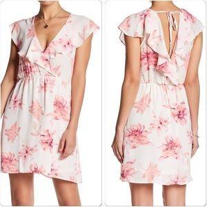 """Lush """"Floral Flutter"""" Dress"""